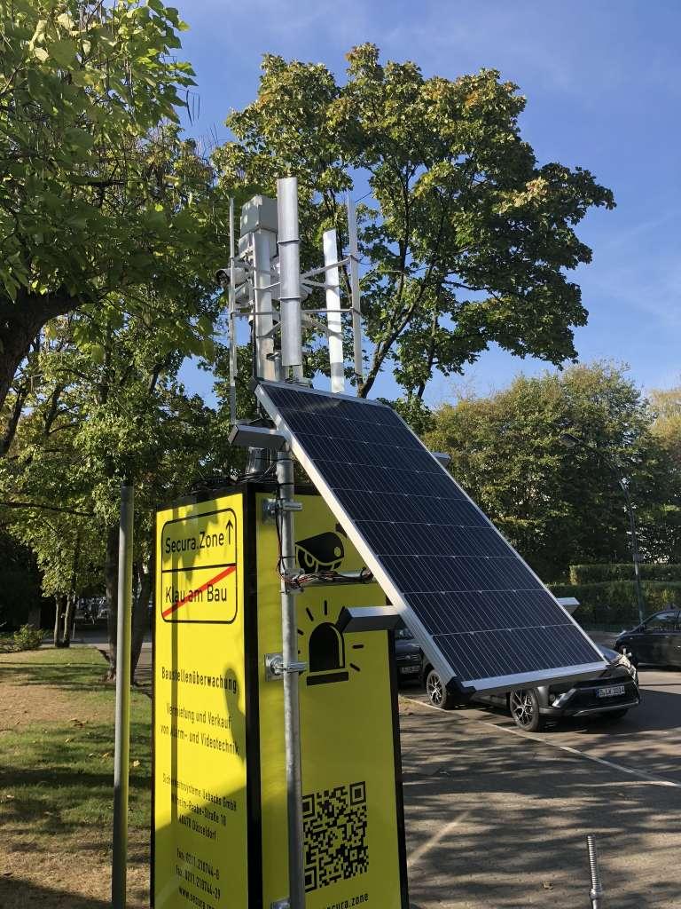 Secura Box Solar Wind Verkabelung